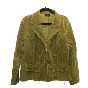 Context Green Corduroy Jacket